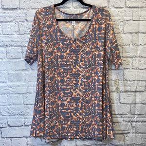 Lularoe Perfect Tee T-Shirt XL X-Large Geometric